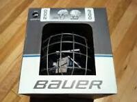 Casque Bauer 2100 Combo Junior Hockey Helmet Face Cage *Neuf New