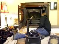 Servicing wood stoves and pellet stoves - ALL makes and models