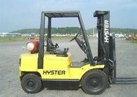 pneumatic forklift hyster