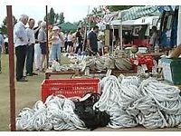 Rope, Fenders & Winches at the Essex Boat Jumble Sunday 25th Feb