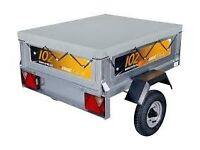 New Erde 102 Trailer + cover and spare wheel