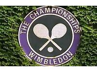 Pair of Wimbledon Centre Court Tickets - Saturday 7th July 2018