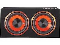 Edge Double Subwoofer ED512 1800 Watts