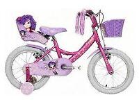 Kids 14 inch Raleigh Molly Bike