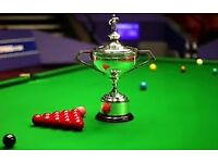 Snooker ticket - Semi Final 2 Final Session - 5 May 19:30