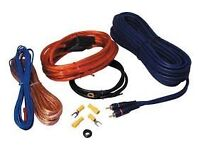 edge wiring kit 10 gauge for subwoofer or power amp