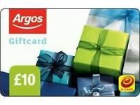 £10 argos voucher for £4.70