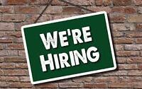 WE'RE HIRING!!  FULL-TIME OPENINGS in St Mary's, ON