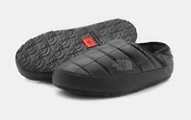 North face traction mule Slippers new in box with tags