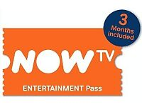 Now TV - 3 Month Entertainment Pass