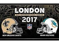 Saints v dolphins ticket