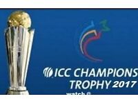 12 X FINAL ICC Champions Trophy 2017 SILVER TICKETS BARGAIN PRICE (Seats are together)