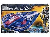 97015 Mega Bloks Halo Covenant Seraph Starfighter 97015 (unbuilt spaceship) & 5 astrosaurs books
