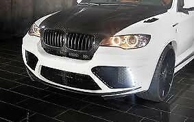BMW X5 E70 2007 to 14 Mansory Style Full Body Kit Front Bumper Rear Bumper Grills LED Lights Exhaust