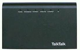 Talk Talk Router For Sale.