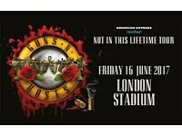 Guns N Roses - 1 x Standing ticket - London Stadium - Friday 16th June - £125 - OnO