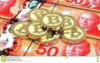 Get paid in bitcoin. I'm making 0.08 BTC a day