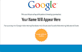 Digital marketing Google  certificate provider