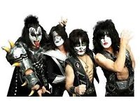 Kiss standing ticket Saturday 27th Glasgow Hydro face value