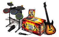 PS3 Guitar Hero world tour in box