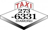 Taxi a Diamond Shift de Jour Prius