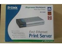 D-Link Print Server- Convert your USB printer to network printer and share