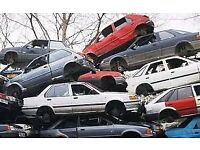 Wanted all scrap cars & vans,mot failures,crashed damaged,non runners,FREE speedy collection.