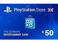 PlayStation PSN Card 50 GBP Wallet Top Up | PSN Download Code -UK account ! price stands no offers
