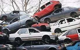 WANTED ANY SCRAP CARS,VAN OR 4X4S,MOT FAILURES,NON RUNNERS ETC FREE COLLECTION