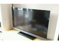 SONY 37 INCH FULL HD 1080P TV WITH STAND REMOTE AND MANUAL not SAMSUNG LG PANASONIC