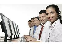 Call centre based sales advisor. £8ph plus £25 commission per sale!! huge earning potential.