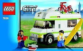 Lego City: Camper Van - 7639
