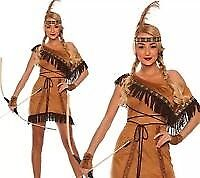 Wild West fancy dress: Indian squaw costume, Pocahontas