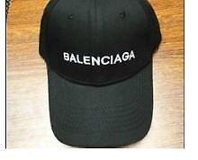 WOMENS BLACK BALENCIAGA SNAP BACK HATE - FREE POSTAGE