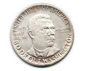 Booker T Washington Half Dollar