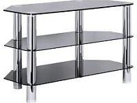 Corner TV unit cabinet stand - excellent condition