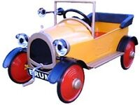 Brum Pedal car - built, new and ready to use