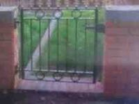 WROUGHT IRON FRONT GATE