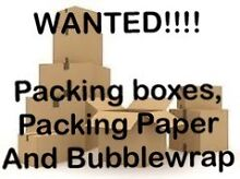 Wanted packing boxes and wrap Subiaco Subiaco Area Preview