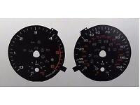KMH to MPH Conversion Dial C548/C1054 for Audi A1 8x Diesel