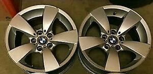 2 bmw rims for sale $50