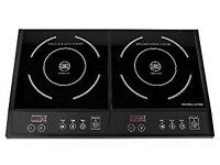 Andrew James double induction hob