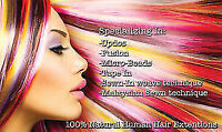 Hair Extensions Special $280 full head!!!! WE COME TO YOU!