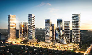New Condos near Square one, priced from $200,000's..