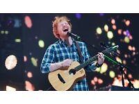 4x Ed Sheeran Tickets Wembley Stadium