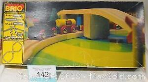 BRIO Toy WOODEN TRAIN SET from Sweden