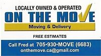 Driver/Mover needed for local Moving Business