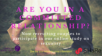 Couples research opportunity – paid study