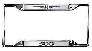 Chrysler Logo 300 License Plate Frame ()