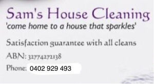House cleaner Portland Glenelg Area Preview